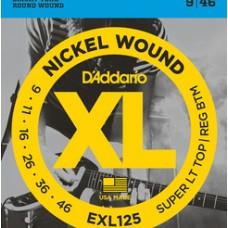 D'ADDARIO XL 09/46 NICKEL PER ELETTRICA