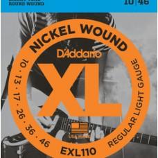 D'ADDARIO XL 10/46 NICKEL PER ELETTRICA