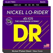 DR LO RIDER 45/105 NICKEL PER BASSO