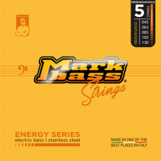 MARK BASS STRINGS ENERGY SERIES STAINLESS 5 CORDE 45/130