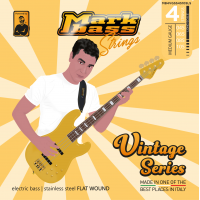 MARK BASS STRINGS VINTAGE SERIES FLAT WOUND 45/105