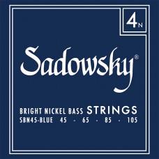 SADOWSKY SBN 45 BLUE LABEL BASS STRINGS NICKEL 45/105