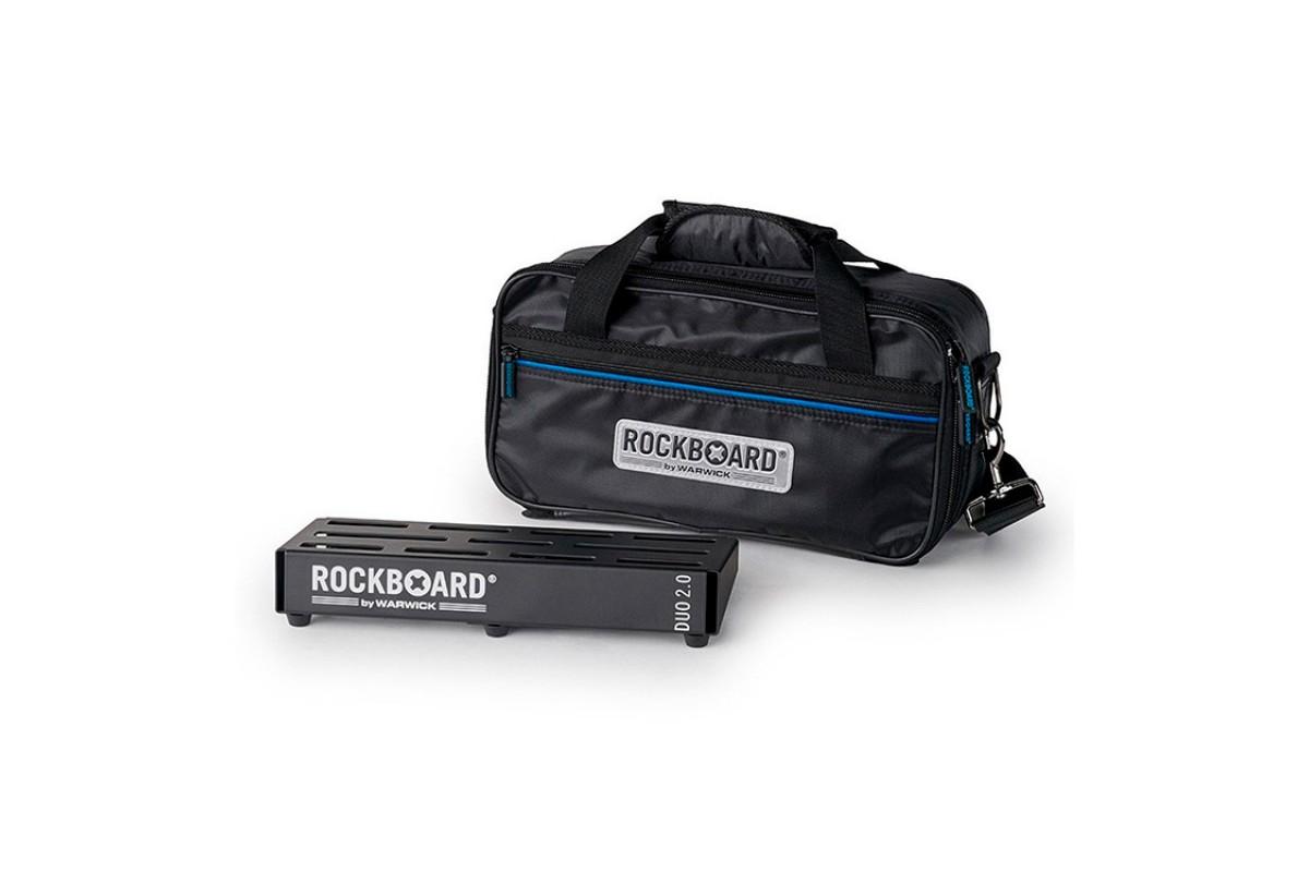 ROCKBOARD 2.0 DUO B PEDALBOARD CON BORSA