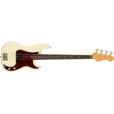 FENDER PRECISION BASS AMERICAN PROFESSIONAL II OLYMPIC WHITE RW