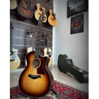 TAYLOR 314CE LTD LIMITED EDITION QUILTED SAPELE EDGEBURST/SITKA