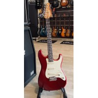 SCHECTER CUSTOM SHOP TRADITIONAL ROUTE 66 AMARILLO METAL RED