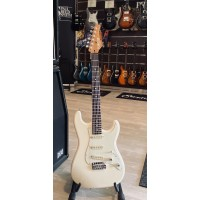 SCHECTER CUSTOM SHOP TRADITIONAL ROUTE 66 SAINT LOUIS AGED WHITE