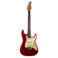 SCHECTER TRADITIONAL ROUTE 66 AMARILLO S/S/S METAL RED