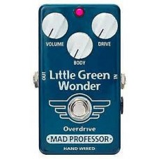 MAD PROFESSOR LITTLE GREEN WONDER OVERDRIVE HW HAND WIRED