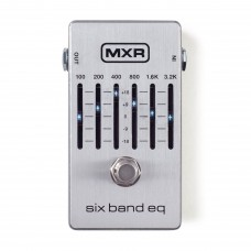 MXR M 109S SIX BAND EQ SILVER