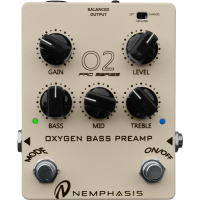 NEMPHASIS O2 PRO OXYGEN BASS PREAMP D.I.